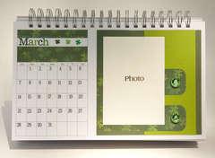Desktop Flip Calendar - March