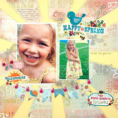 Spring and Sunshine Layout
