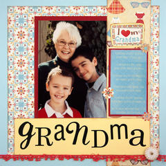 I Love My Grandma Layout