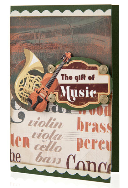 The Gift of Music Card