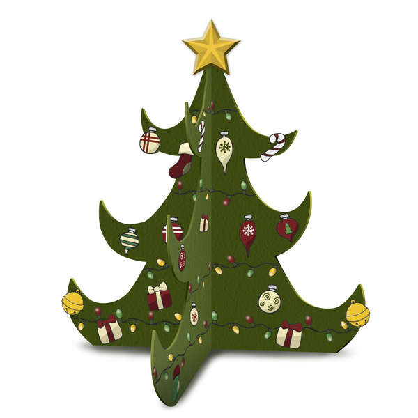 Christmas Tree Kids Kraft-It Kit