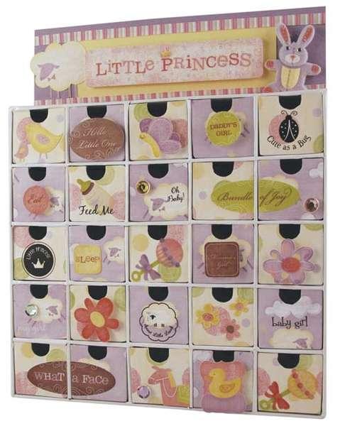 Baby Girl 3D Calendar