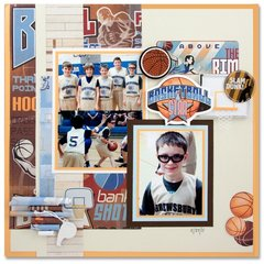 All Star Layout by Mary Frances