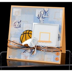 Basketball Card by Carolyn