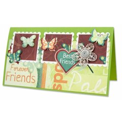 Best Friends Card by Mary Frances