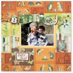 Best Friends Layout by Jolene