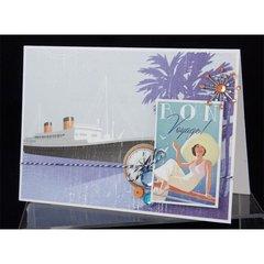 Bon Voyage Card by Alice