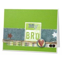 My Bro Card by Carolyn