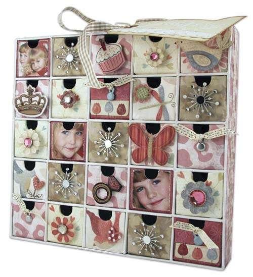 Girls Jewelry Box Calendar
