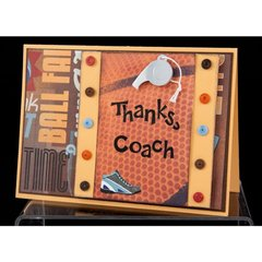 Thanks Coach Card by Jolene