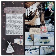 Wedding Bliss Layout by Shavaugn