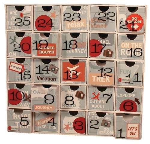 Travel Countdown Calendar