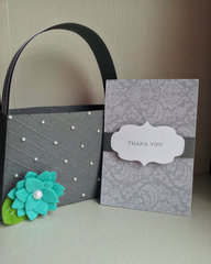 thank you gift card holder and purse