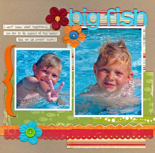Big Fish ( Kraft Girl Kits)