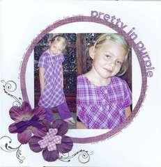 Pretty in purple