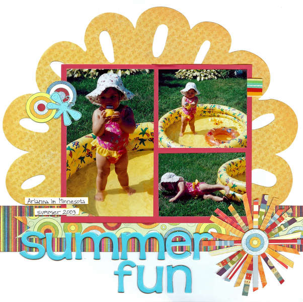 Summer fun (Kraft Girl Kits)