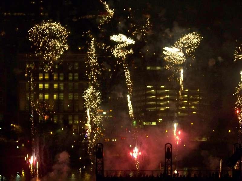 Fireworks at Pirates game