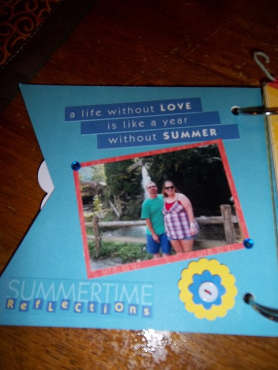 Sweet Summertime - 1st page