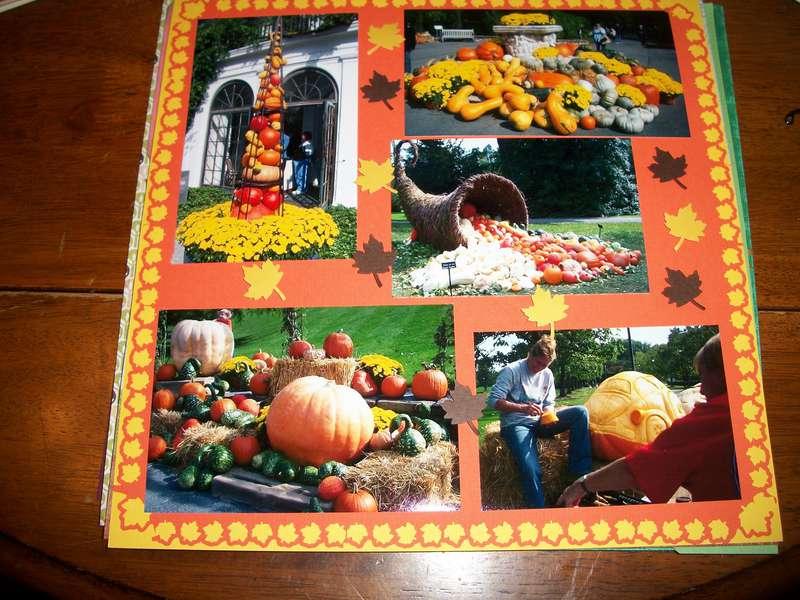 Longwood Gardens - Fall time
