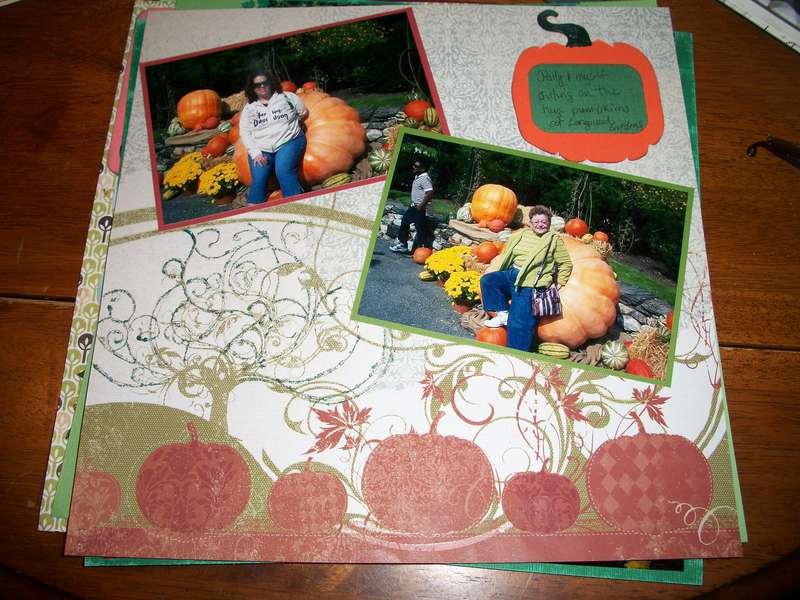 Longwood Gardens - Huge Pumpkin