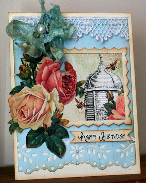 Happy Birthday Hybrid Card