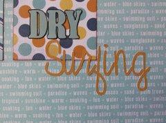 Dry Surfing
