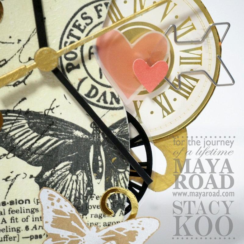 Maya Road: Constructed Clock
