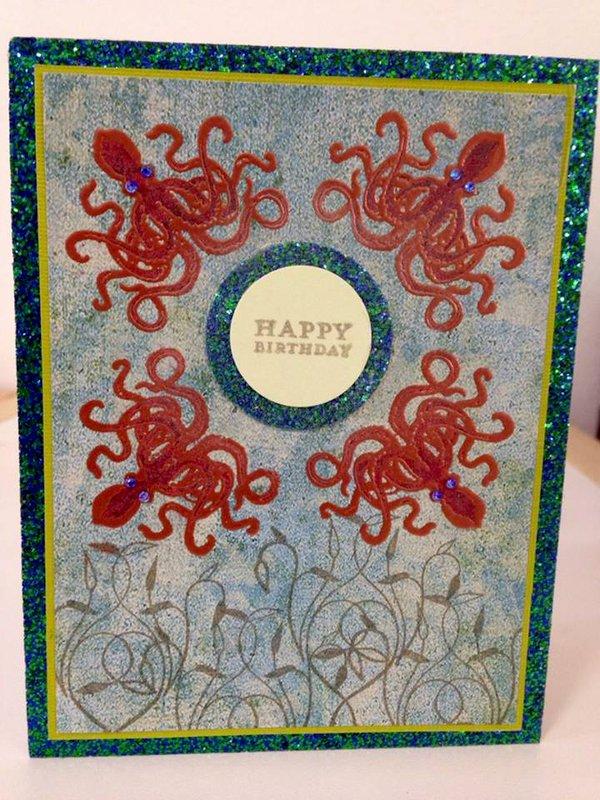 Octopus birthday