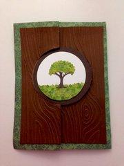 Tree flip-card