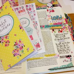 Lord Prepare my Heart Bible Journaling