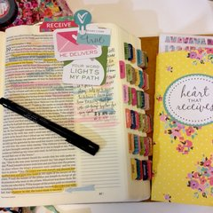 He Delivers Bible Journaling