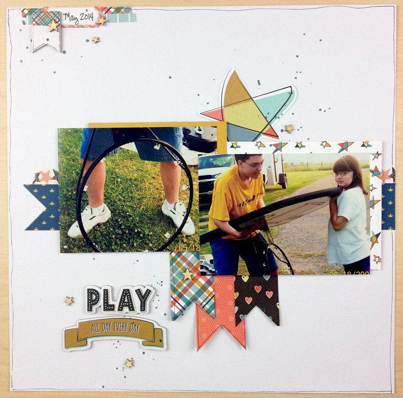 Play all Day Every Day w/Process Video