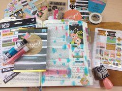 Bible Journaling: Persevere Day 1