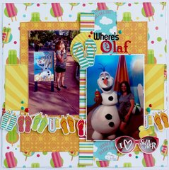 Disney Olaf with Process video