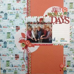 Jolly Holly Days with process video