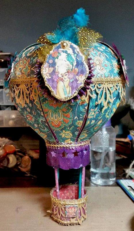 Midnight Masquerade Hot Air Balloon