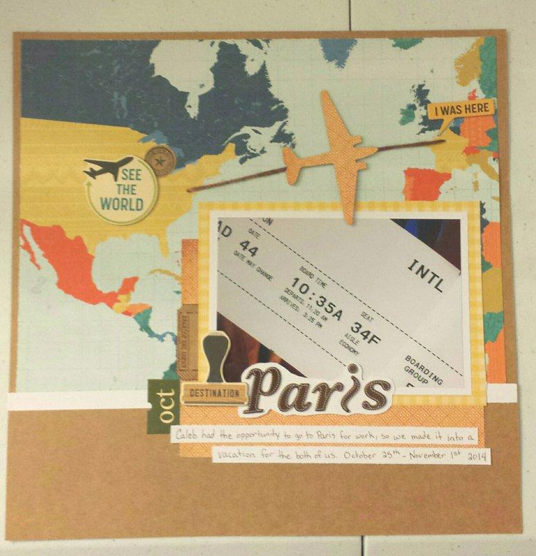 Paris Title Page