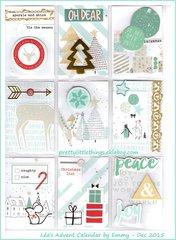 Advent Calendar by Emmy (prettylittlethings.eklabog.com)