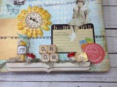 Reliable Sunflower Altered Clipboard