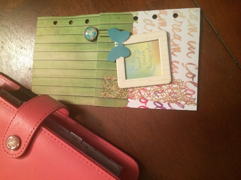 dream in color planner layout