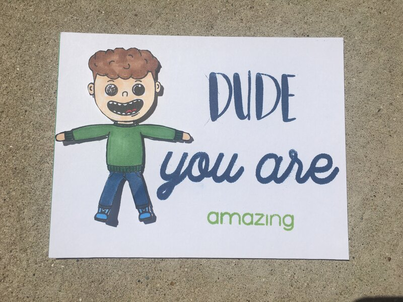 You are amazing -boy