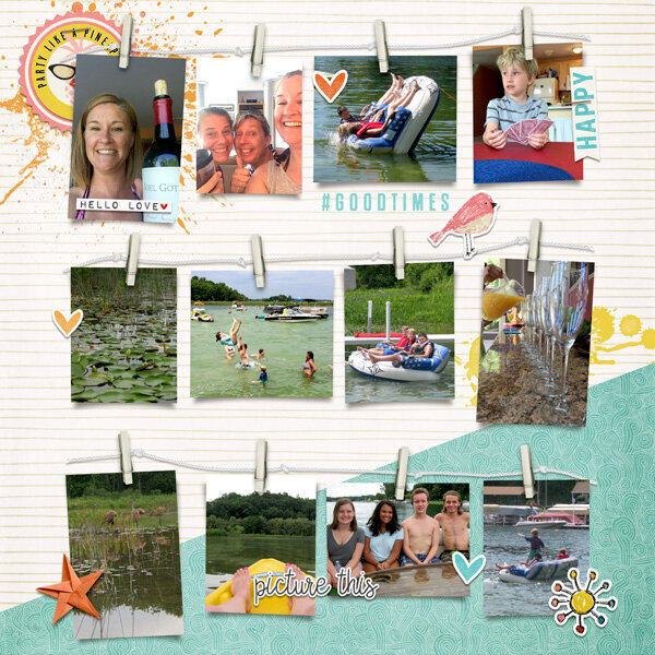 Lake James page 1