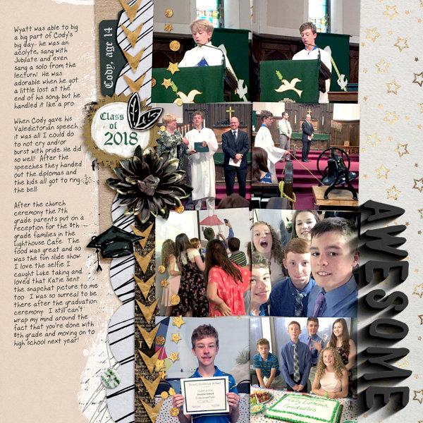 8th Grade Graduation page 2