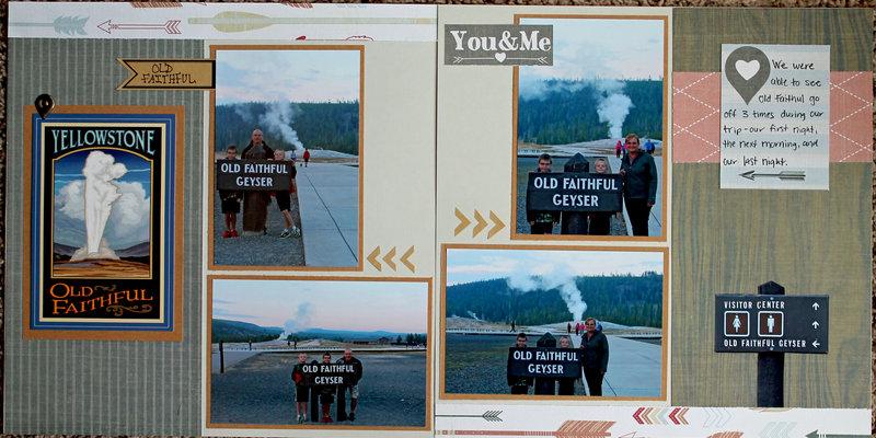 Old Faithful - Yellowstone