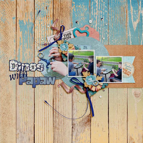 Dinos with Papaw - May 2019