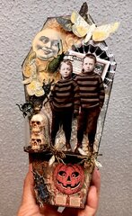 Halloween Coffin Candy Container
