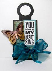 You Make My Heart Sing Wine Tag