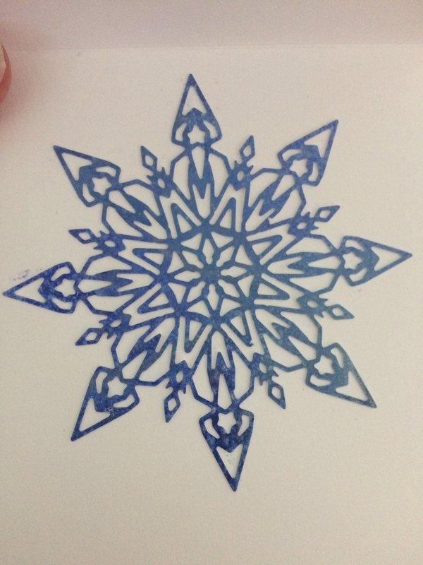 Captured Snowflake