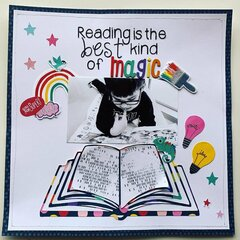Reading is the best Magic
