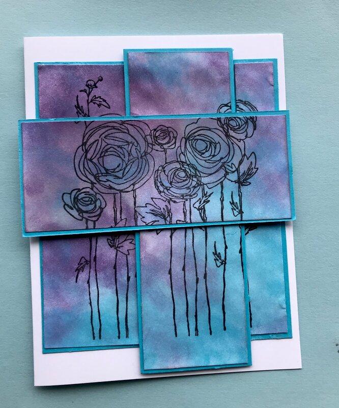 Triple-stamped flowers